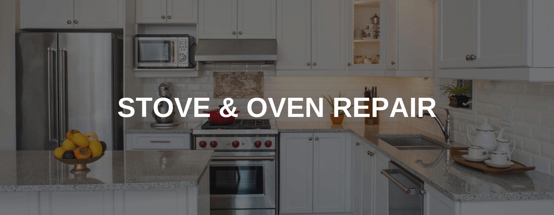 stove repair orem
