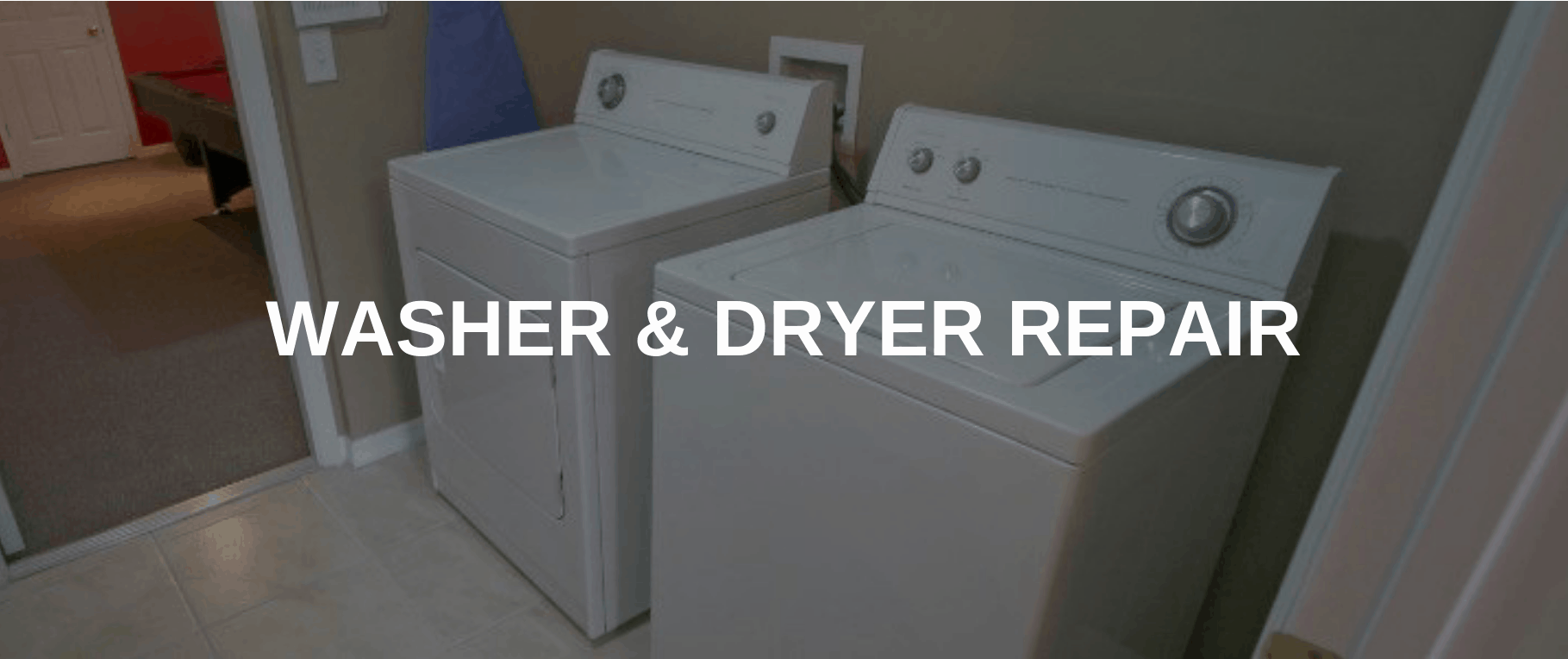 washing machine repair orem